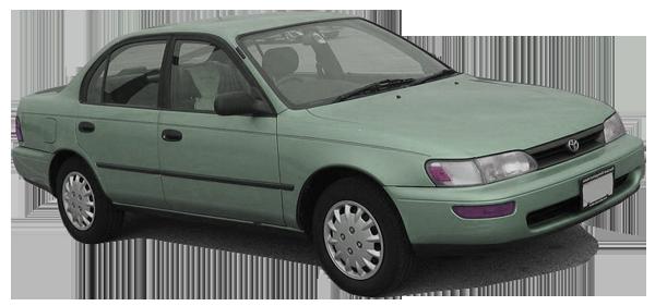 TOYOTA Corolla E10 (1991-1998) - conversion kit SVO/WVO/PPO