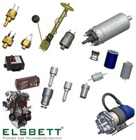 Spare parts (ELSBETT) and other parts for upgrading your BioFuel conversion